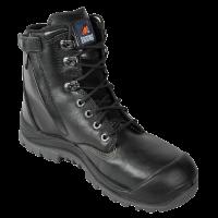 Mongrel Black High Ankle ZipSider Boot (561020)