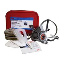 3M Medical & Industry Multi-Gas Small Half Face Respirator Kit (A1B1E1K1P2) (6259)