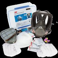 Medium 3M Full Face Respirator Kits- A1P2 (6851M) No Order cancellation/ No returns/ No Refunds