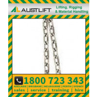 6mm Commercial Chain, Long Link, Gal, (Drum 500kgs)(704206)