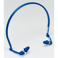 (Case of 10 boxes) 3M Blue Banded Earplugs in Polybag Class 2 SLC80 15dB (10 bands per box) (70071515822)