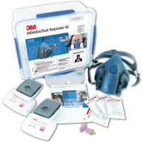 3M Large Half Face Respirator Kits Medical & Industry - 6035 P2/P3 filters (7535L)