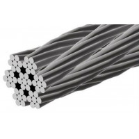 15m Stainless Steel 8mm dia, 7x7 wire rope