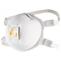 (Box of 10) 3M P2 Welding Fume Respirator with valve (8512)