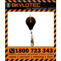 Skylotec HSG HK - SRL 8m, 5mm galcable with impact indicating swivel d_action 45kN steel snap hook, 23mm gate, 15kN side load (FASK HSG-002-8)