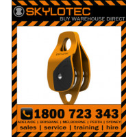 Skylotec Double Roll 2L - 50kN Double roll Aluminium & ABS pulley, 354g, 17mm eye. 2 cut-outs, 13mm (H-068)