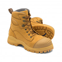 SIZE 13 Blundstone Style 998 Wheat Lace-up Steel Toe Cap Safety Boot