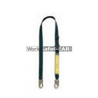 Adjustable Kevlar Lanyard with 19mm hooks on all legs