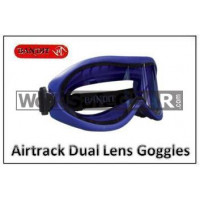 Bandit III AIRTRACK Dual Lens Safety Goggles (108-Airtrack)