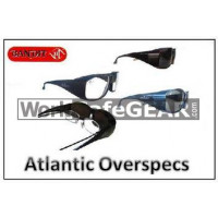 Bandit III ATLANTIC FITOVER Safety Glasses Over Spectacles Safety Glasses Eye Protection Specs (387)