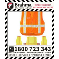 Brahma Breakway Safety Hi Vis Reflective Tape Vest