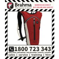 Brahma Caribee Hydra Hydration Back Pack 1.5L Red/Silver
