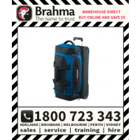 Brahma Caribee Scarecrow Trolley Travel Duffel Bag All-Terrain Luggage 75L Atomic Blue (57402)