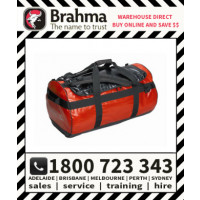 Brahma Caribee Water Resistant Weather Proof Kokoda Gear Bag 65L Red (58061)