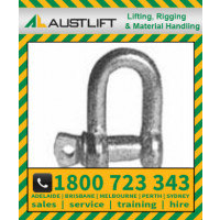 Commercial Dee Shackle 080kg 5mm (501005)