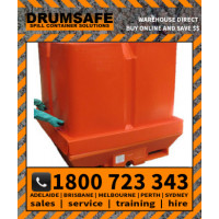 Drumbrella Pallet Cover Drumsafe Spill Prevention Secondary Containment