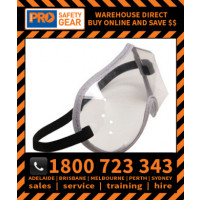 ProChoice Medical and Worksite Disposable Clear Goggle