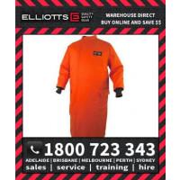 Elliotts ARCSAFE W24 Switching Coat Long Orange with Reflective Hi-Vis Tape Trim (EASCCW24T1)