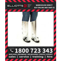 Elliotts Aluminised PREOX LEGGINGS LINED Furnace FR Welding Protective Clothing Workwear (APL16PW)