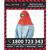Elliotts Big Red Leather CONFINED SPACE WELDING HELMET (BRH30NL)