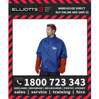 Elliotts Blue Max FR Cotton WELDING JACKET (NPWJ30)