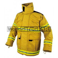 Elliotts E Series Firefighting Coat PBI GOLD REINFORCED Thermal Lined Fire Resistant Protection Workwear