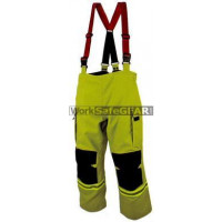 Elliotts E Series Firefighting Trousers NOMEX 3D LIME REINFORCED Thermal Lined Fire Resistant Protection Workwear