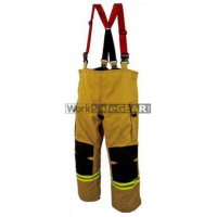 Elliotts E Series Firefighting Trousers PBI GOLD REINFORCED Thermal Lined Fire Resistant Protection Workwear