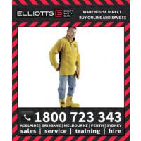 Elliotts Golden Chief Leather WELDING BOLERO/APRON Jacket (GCWSAL)