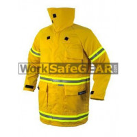 Elliotts Wildland Firefighting JACKET Coat Gold Proban Fire Resistant Bushfire Protection Workwear (EAWLJ)