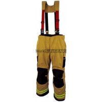 Elliotts X Series Firefighting Trousers PBI GOLD HEAVY DUTY REINFORCED Thermal Lined Fire Resistant Protection Workwear