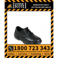 Mongrel Black Derby Shoe Work Boot Victor Footwear Shoe (910025)