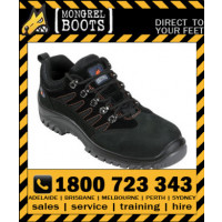 Mongrel Black Hiker Shoe Safety Work Boot Victor Footwear Shoe (390080)