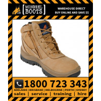 Mongrel Wheat Low Leg ZipSider Work Boot (961050)