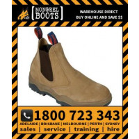 Mongrel Wheat Suede Elastic Side Boot Safety Work Boot Victor Footwear Shoe (240040)