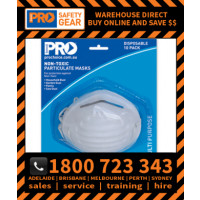 Non Toxic Dust Mask - 10 Piece Blister Pack (PC101-10)