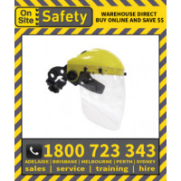 On Site Safety 0SS3 Brow Guard with 2mm Clear Shield