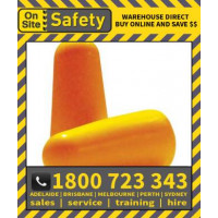 On Site Safety 200 Uncorded Disposable Class 5 27dB Ear Plugs