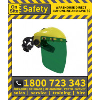 On Site Safety OSS2W5 with 2mm Shade 5 Visor Face Shield