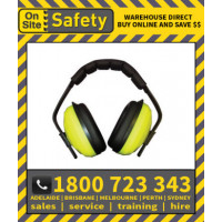 On Site Safety TORQUE 2dB Class 5 Earmuffs Hearing Protection (M10)