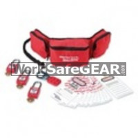 Personal Lockout Pouch Kit - Electrical (LO M 1456E410 WSG)
