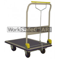 Single Deck Platform Trolley With Folding Handle (RGWE NF301HB WSG)