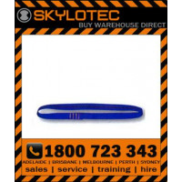 Skylotec attachment sling loop 26 kN - Top stitched BLUE hose strap 25mm wide (L-0008-2) 2m length