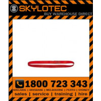 Skylotec attachment sling loop 26 kN - Top stitched RED hose strap 25mm wide (L-0008-0.6) 0.6m length