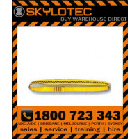 Skylotec attachment sling loop 26 kN - Top stitched YELLOW hose strap 25mm wide (L-0008-1.2) 1.2m length