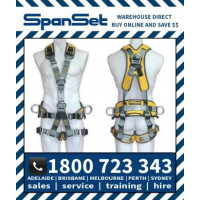 Spanset 1800 ERGO Ropeworks Safety Harness