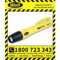 Wolf Safety Lamp M-60 Mini - 1 x LED, Zone 0 Torch (WOLF563)