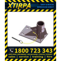 XTIRPA Stainless Steel Zinc Plated 600mm Floor Mount Adapter (XTIN2106)