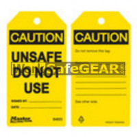 X_Tags Unsafe Do Not Use (LO M S4053 WSG)