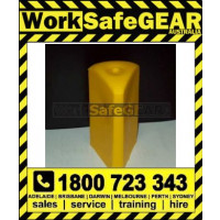 (R62T) STAR PICKET CAPS YELLOW triangle